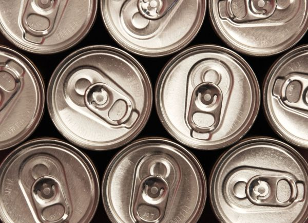 Several pop cans taken from above., Image: 8588038, License: Royalty-free, Restrictions: , Model Release: no, Credit line: Profimedia, Alamy