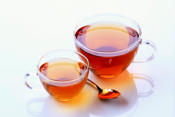 Two glass cups of tea - studio, Image: 90029039, License: Rights-managed, Restrictions: , Model Release: no, Credit line: Profimedia, Digifoodstock