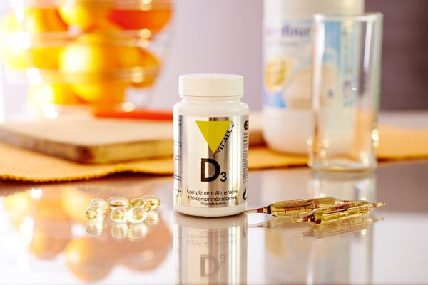 Vitamin D3 supplements (cholecalciferol)., Image: 271632104, License: Rights-managed, Restrictions: , Model Release: no, Credit line: Profimedia, BSIP