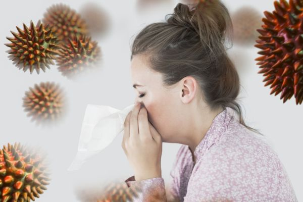 Young woman blowing her nose against virus, Image: 258652518, License: Royalty-free, Restrictions: , Model Release: yes, Credit line: Profimedia, Wavebreak