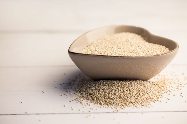 Sesame seed in a heart shaped bowl on the table, Image: 260066648, License: Royalty-free, Restrictions: , Model Release: no, Credit line: Profimedia, Wavebreak