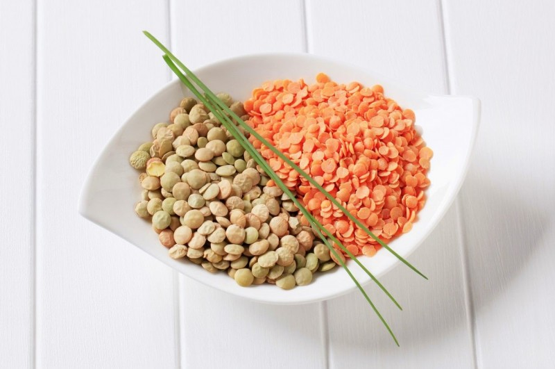 Raw red and brown lentils in a bowl, Image: 164272828, License: Rights-managed, Restrictions: , Model Release: no, Credit line: Profimedia, Digifoodstock