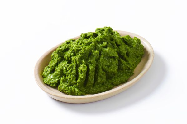 Plate of homemade spinach puree, Image: 254985164, License: Rights-managed, Restrictions: , Model Release: no, Credit line: Profimedia, Digifoodstock