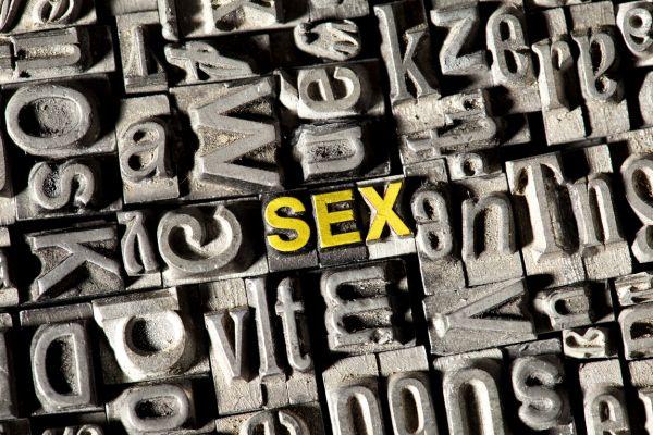 Old lead letters forming the word Sex, Image: 148117425, License: Rights-managed, Restrictions: , Model Release: no, Credit line: Profimedia, imageBROKER