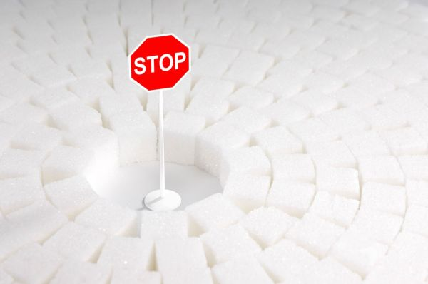 Red Stop sign with copyspace surrounded by sugar cubes, Image: 34623298, License: Royalty-free, Restrictions: , Model Release: no, Credit line: Profimedia, Alamy