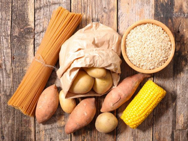 59383490 - carbohydrate food background
