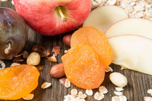 70260490 - fresh raw products for healthy breakfast
