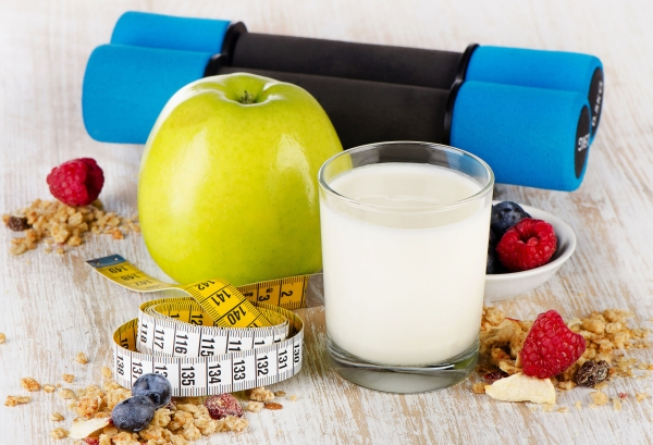 32059672 - healthy diet  food  on wooden  background. selective focus