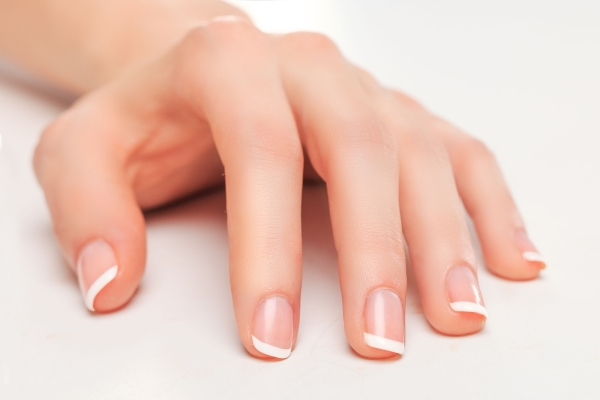 40878051 - beauty salon nails french manicure