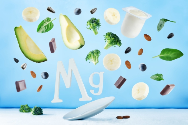Flying foods rich in magnesium. Healthy eating