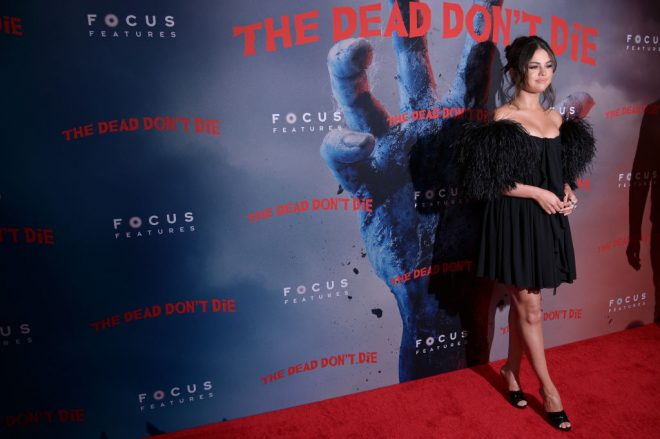 "NEW YORK, NEW YORK - JUNE 10: Selena Gomez attends ""The Dead Don't Die"" New York Premiere at Museum of Modern Art on June 10, 2019 in New York City. (Photo by Michael Loccisano/WireImage)"